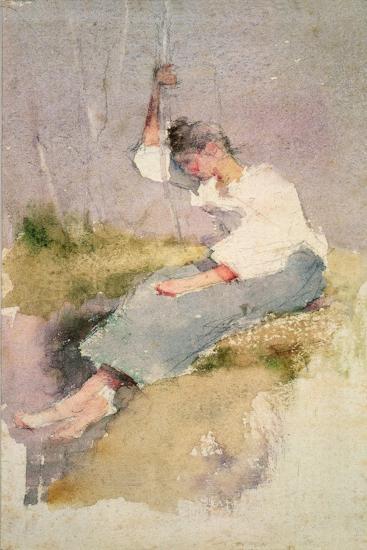 Louise, a Breton Girl-Elizabeth Adela Stanhope Forbes-Giclee Print