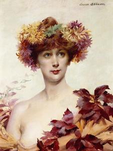 A Portrait of Sarah Bernhardt by Louise Abbema