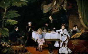 The Breakfast, 1877 by Louise Abbema