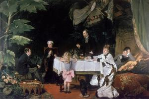The Luncheon in the Conservatory, 1877 by Louise Abbema