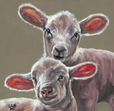 Spring Lambs by Louise Brown