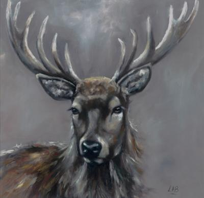 Stag by Louise Brown