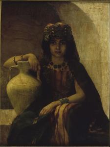 Jeune fille de Grande Kabylie : Portrait d'Algérienne by Louise Canuet