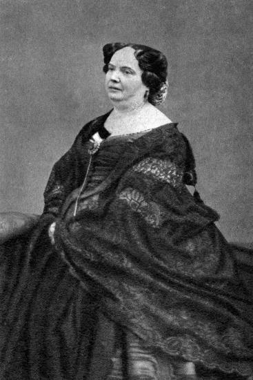Louise Colet, French Poet, 1874--Giclee Print