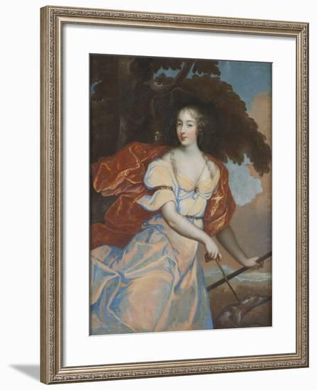 Louise de la Vallière as Diana--Framed Giclee Print