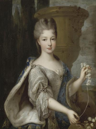 Louise-Elisabeth de Bourbon-Condé, princesse de Conti (1695-1775)-Pierre Gobert-Giclee Print
