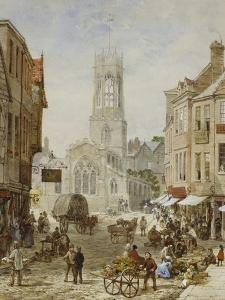 All Saints Pavement, York by Louise J. Rayner