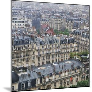 Parisian Rooftops by Louise LeGresley