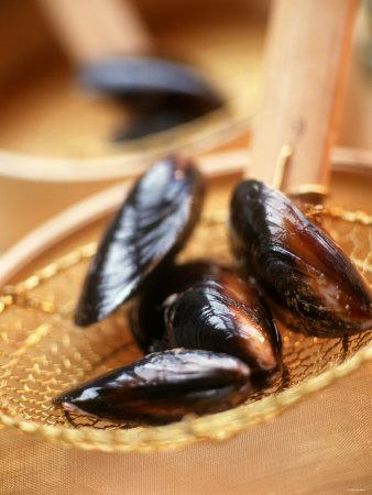 Mussels in a Basket