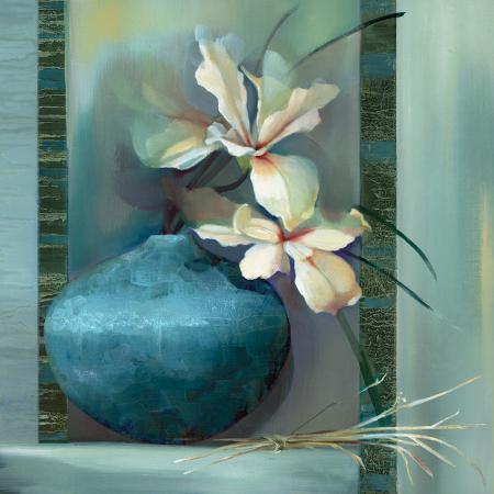 louise-montillio-lilies-in-a-blue-vase