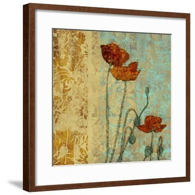 Poppies and Damask I
