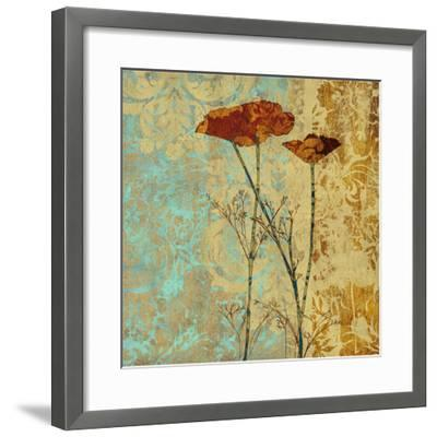 Poppies and Damask II