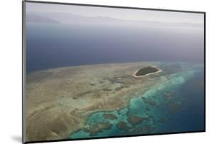 Aerial Photography of Coral Reef Formations of the Great Barrier Reef by Louise Murray