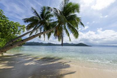 Tropical Island Beach at Matangi Island Resort, Vanua Levu, Fiji, Pacific