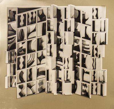 Untitled (Gold) by Louise Nevelson