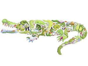 Crocodile by Louise Tate