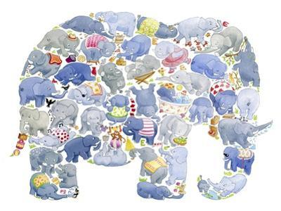 Elephant by Louise Tate