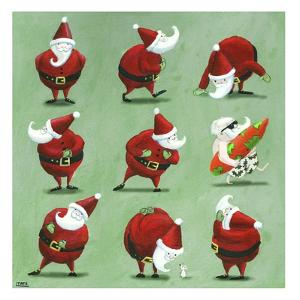 Father Christmas by Louise Tate