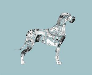 Great Dane by Louise Tate