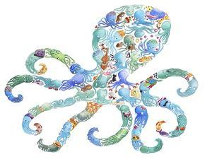 Octopus by Louise Tate