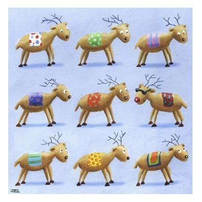 Reindeer by Louise Tate