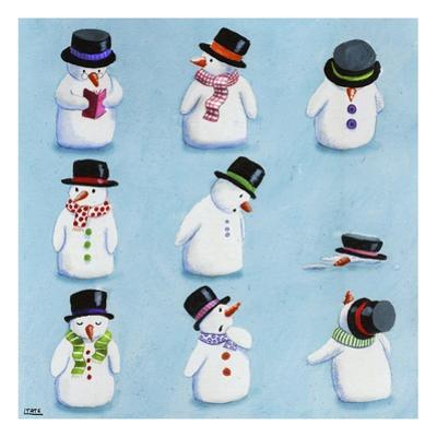 Snowmen by Louise Tate