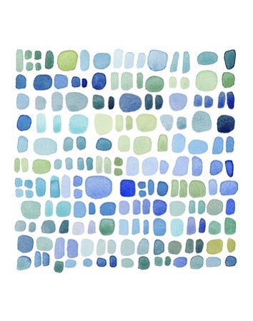 Series Sea Glass No. III by Louise van Terheijden