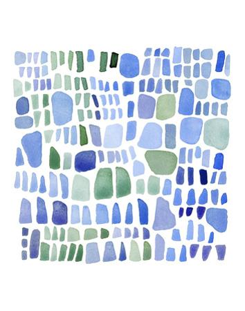 Series Sea Glass No. IV by Louise van Terheijden
