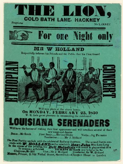 Louisiana Serenaders at the Lion, Hackney--Giclee Print