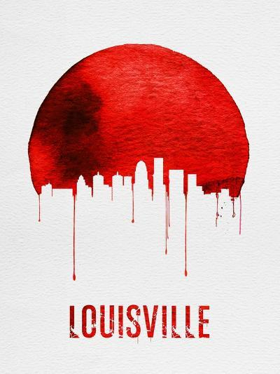 Louisville Skyline Red--Art Print