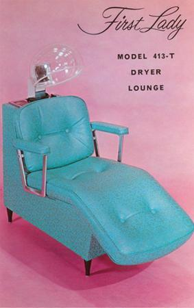 Lounge Chair for Hair Dryer