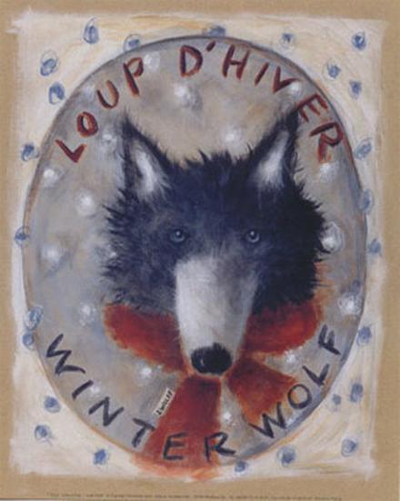 Loup d'Hiver-Jo?lle Wolff-Art Print