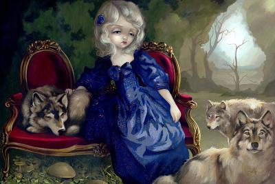 Loup-Garou:? La Tristesse-Jasmine Becket-Griffith-Art Print
