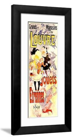 Louvre, Jouets-Etrennes-Jules Ch?ret-Framed Giclee Print