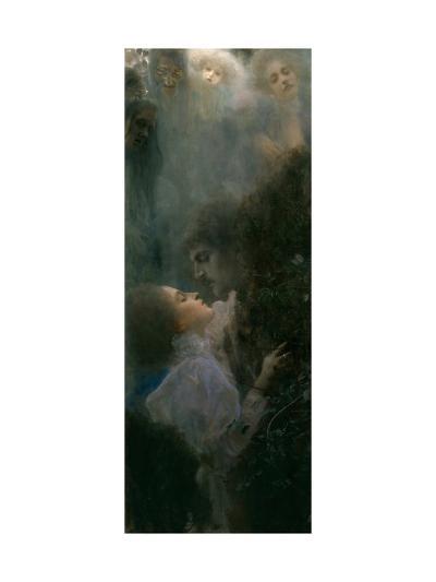 Love, 1895-Gustav Klimt-Giclee Print