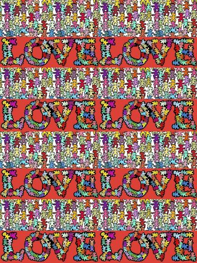 Love 4 Times-Miguel Balb?s-Giclee Print