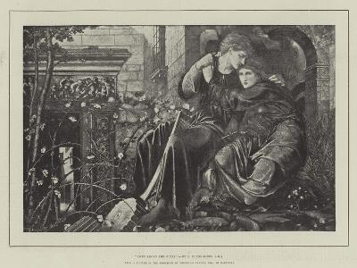 Love Among the Ruins-Edward Burne-Jones-Giclee Print