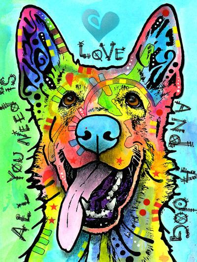 Love and a Dog-Dean Russo-Giclee Print