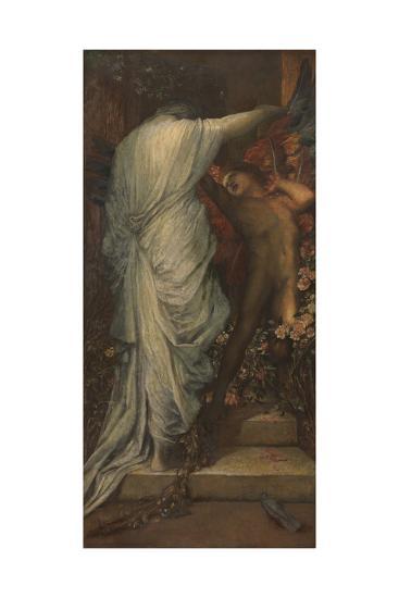 Love and Death-George Frederic Watts-Giclee Print