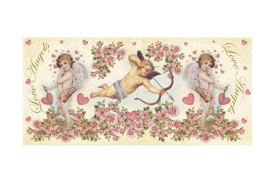 Love Angels 3-Maria Trad-Giclee Print