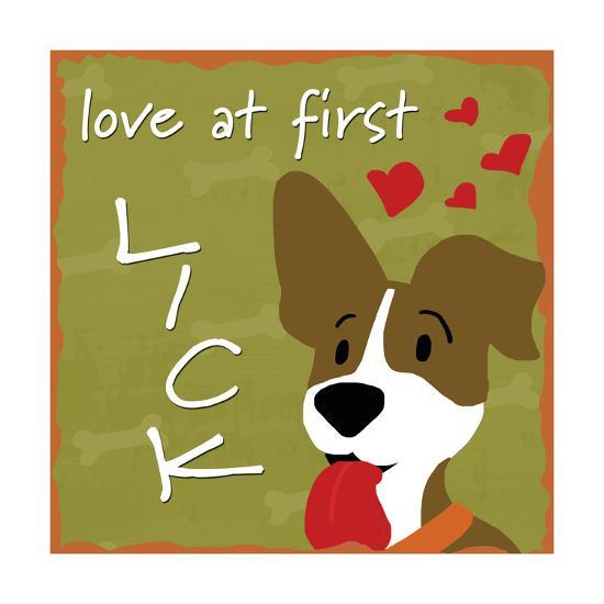Love at First Lick-Anna Quach-Art Print