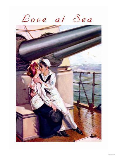 Love at Sea--Art Print