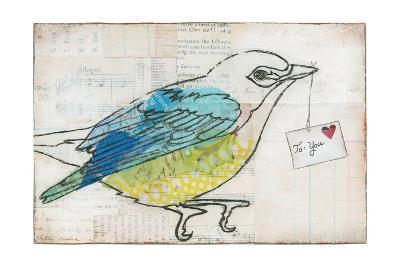 Love Birds III-Courtney Prahl-Art Print