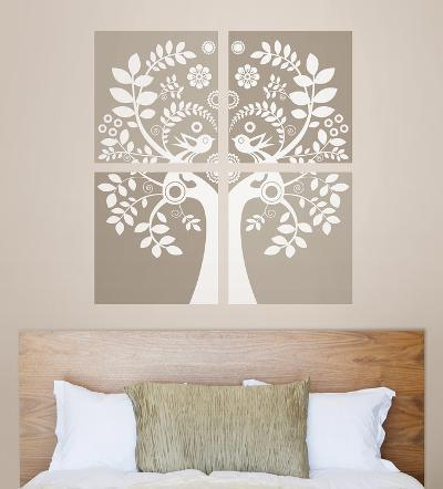 Love Birds Wall Art Kit--Wall Decal