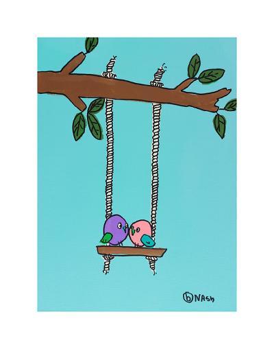 Love Birds-Brian Nash-Art Print