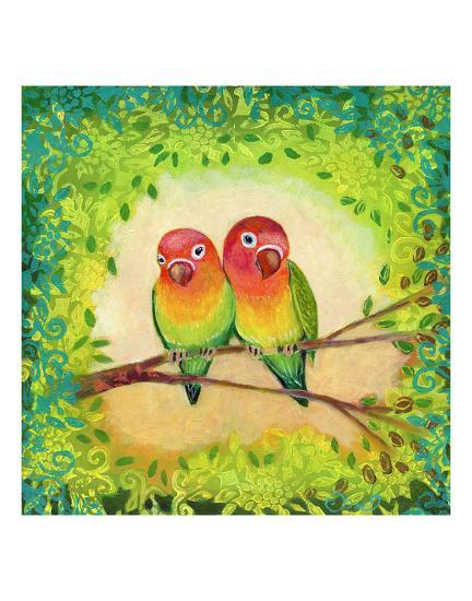 Love Birds-Jennifer Lommers-Art Print