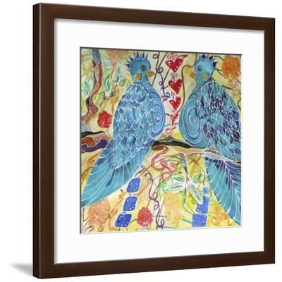 Love Birds-Lauren Moss-Framed Giclee Print