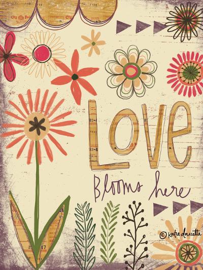 Love Blooms Here-Katie Doucette-Art Print