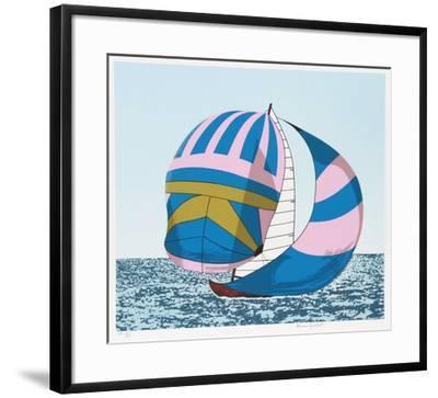 Love Boat-Alvaro Guillot-Framed Limited Edition