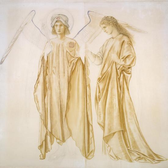 Love Bringing Alcestis Back from the Grave-Edward Burne-Jones-Giclee Print